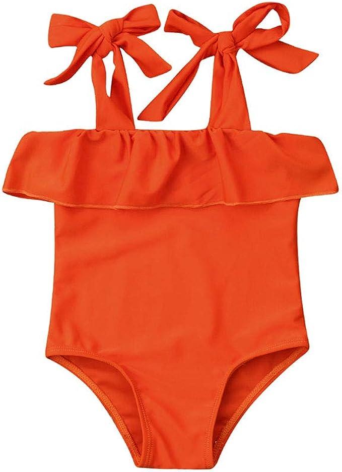 Amazon.com: Hwaikun traje de baño de una pieza para bebé ...