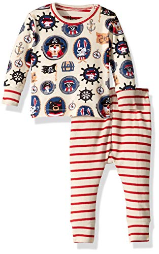 Pirate Pajamas For Toddlers - Hatley Baby Boys Organic Cotton Long