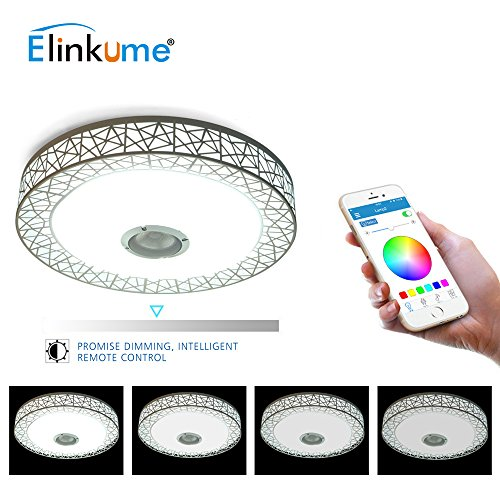 Back To Search Resultslights & Lighting Responsible Hot Sale 36w App Rgb Control Music Led Ceiling Light Bluetooth 6500k Led Ceiling Lamp El Techo Luz For Living Room Bedroom Fragrant Aroma Ceiling Lights