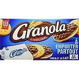 LU Granola au chocolat au lait 6 x 3 biscuits 225 g - Lot de 5