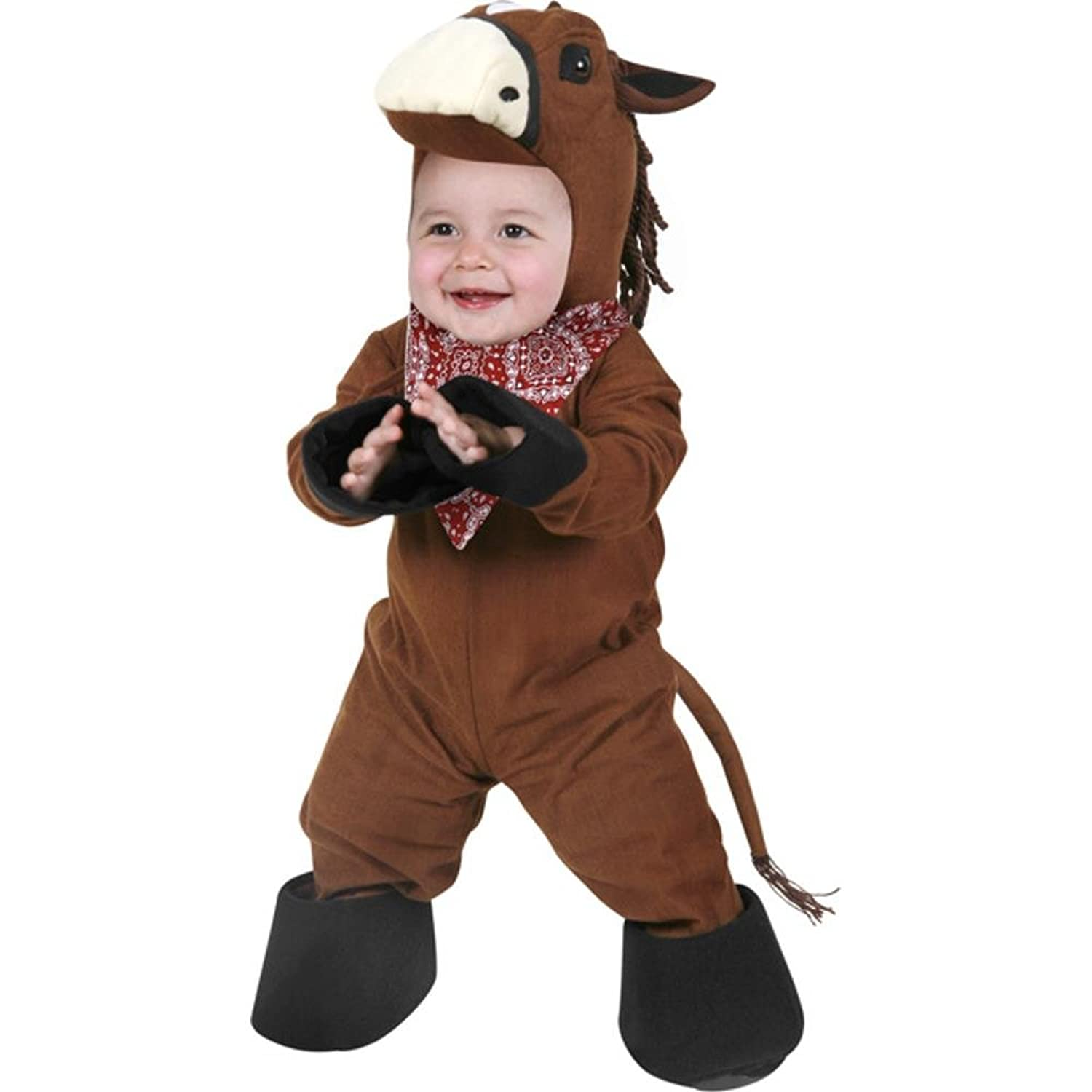 Amazon Infant Horse Halloween Costume Size 6 12 Months Clothing