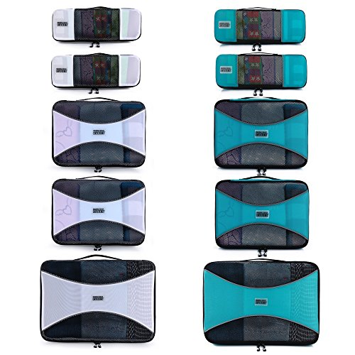 (PRO Packing Cubes for Travel - Luggage Organizer Bags, Accessories - Ultralight)