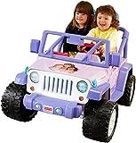 Power Wheels Nickelodeon Dora & Friends Jeep Wrangler