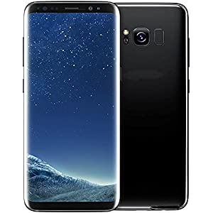 Samsung Galaxy S8+ Factory Unlocked Smart Phone 64GB - International Version (Black)