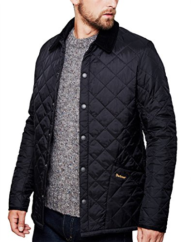 Barbour Mens Heritage Liddesdale Coat, M Black from Barbour