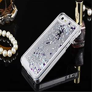 SHOUJIKE SIiquid Mobile Phone Shell Shell Stars Quicksand foriPhone 5/5S(Assorted Coior) , Rose
