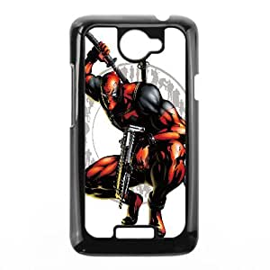 Deadpool Comic Protective Case For HTC One X Cell Phone Case Black