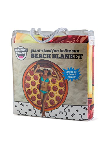 BigMouth Inc. Gigantic Pizza Beach Blanket