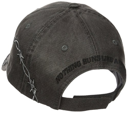 d0be497983ea1 John Deere Embroidered Logo Waxed Cotton Baseball Hat - One-Size - Men s -  Charcoal - 13080335   Baseball Caps   Clothing