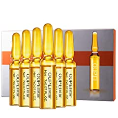 Fewear Highly Concentrated Dark Spots Corrective Ampul Facial Serum, Nicotinamide Moisturizing Firming Serum Brighten Skin Essence Anti-Aging Face Oil-free Serum 7PC/ Box Features: Reduce post-acne marks and hyperpigmentation Brighten skin ov...