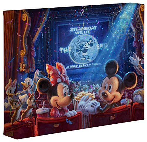 Thomas Kinkade Studios Disney 90 Years of Mickey 8