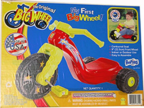 """Kids Only 9"""" My First Big Wheel for Boys"""