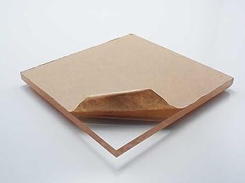 Amazon Com Polycarbonate Lexan Clear Plastic Sheet 1 8 X 24 X 48 Industrial Scientific