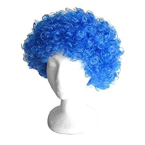 Halloween Dress Up Party Fluffy Explosio - Curls Halloween Wig Shopping Results