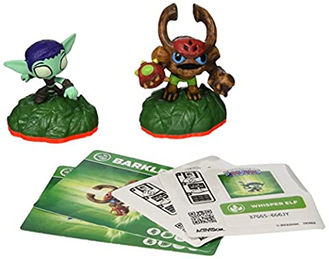 Skylanders Trap Team: Whisper Elf & Barkley - Mini Character 2 Pack (Skylanders Barkley Sidekick)
