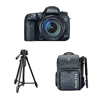 Canon EOS 7D Mark II Digital SLR Camera + 18-135mm is USM Lens with Digitek 550LW Tripod + Arctic Fox Camera Bag with… 20