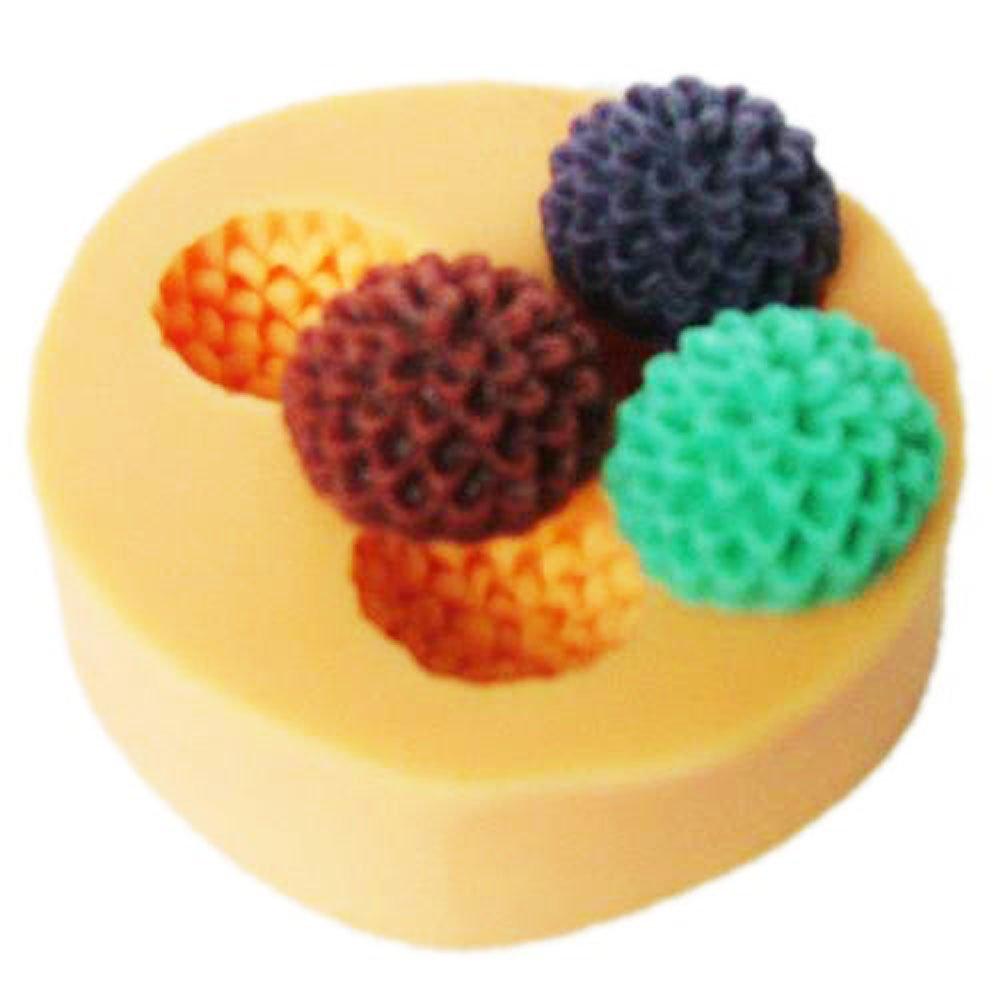 Mini Blumen Fondant Mold Silikon Zucker Harz Backformen Handwerk Formen DIY Kuchen dekoration X001