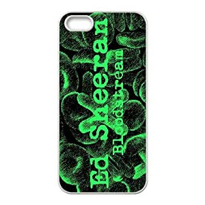 James-Bagg Phone case Singer Ed Sheeran Protective Case For Apple Iphone 5 5S Cases Style-6
