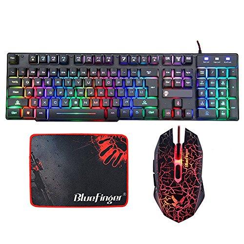 BlueFinger Keyboard Struction Customized Mousepad product image