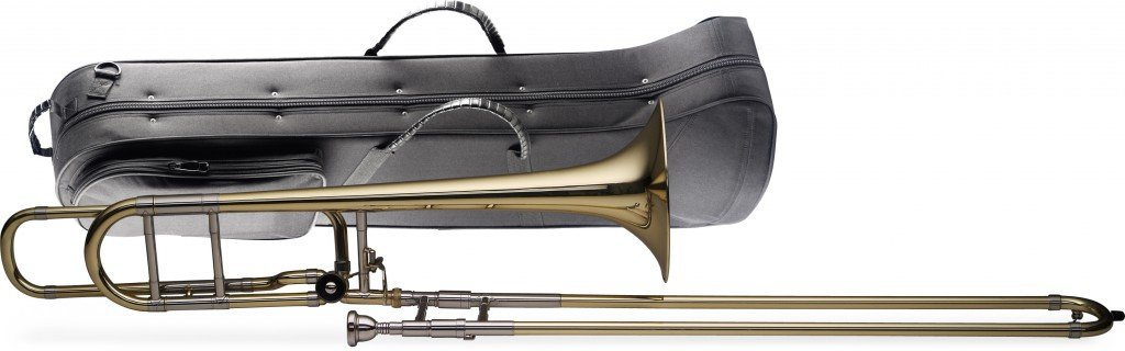 Levante LV-TB5415 Bb/F Professional Tenor Slide Trombone with Case