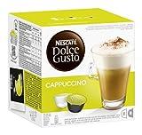 Nescafé Dolce Gusto Kaffeekapseln, Cappuccino, 16 Kapseln für 8 Getränke, 600g