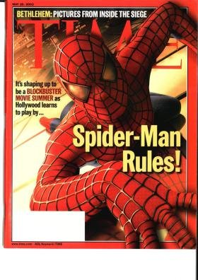 Download Time Magazine May 20 2002 Spider Man Rules * Bethlehem: Pictures from Inside the Siege PDF