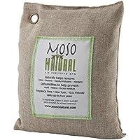 Moso Natural Air Purifying Bag 600-Grams. Natural Odor Eliminator. Fragrance Free, Chemical Free, Odor Absorber. Captures and Eliminates Odors. Natural Color