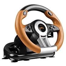 Speedlink Drift O.Z. Racing Wheel for PC - Black/Orange