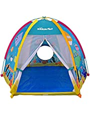 NARMAY Play Tent Ocean World Dome Tent For Kids Indoor / Outdoor Joy - 72 X 60 X 48 Inch
