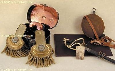 Civil War Union Artifacts - Union Soldier Andrew Jackson Ward