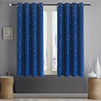 Alice Brown Romantic Starry Sky Creative Blackout Window...