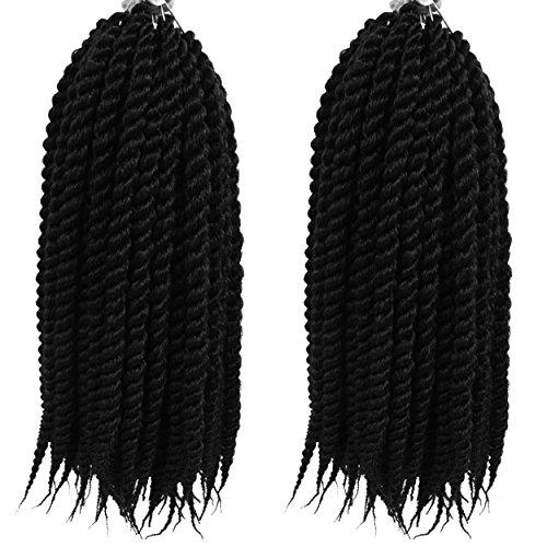 Firstcyh Hair Senegalese Twist Crochet Hair Synthetic Mambo