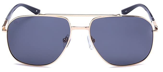 "3c251c16d80 PRIVÉ REVAUX ""The Dealer"" Handcrafted Designer Polarized Aviator Sunglasses  For Men   Women"