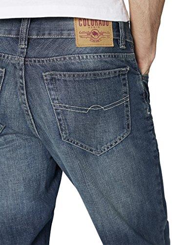 Azul Dark 205 Wash para Stone Hombre Colorado Denim Jeans Pw8IxCqXq