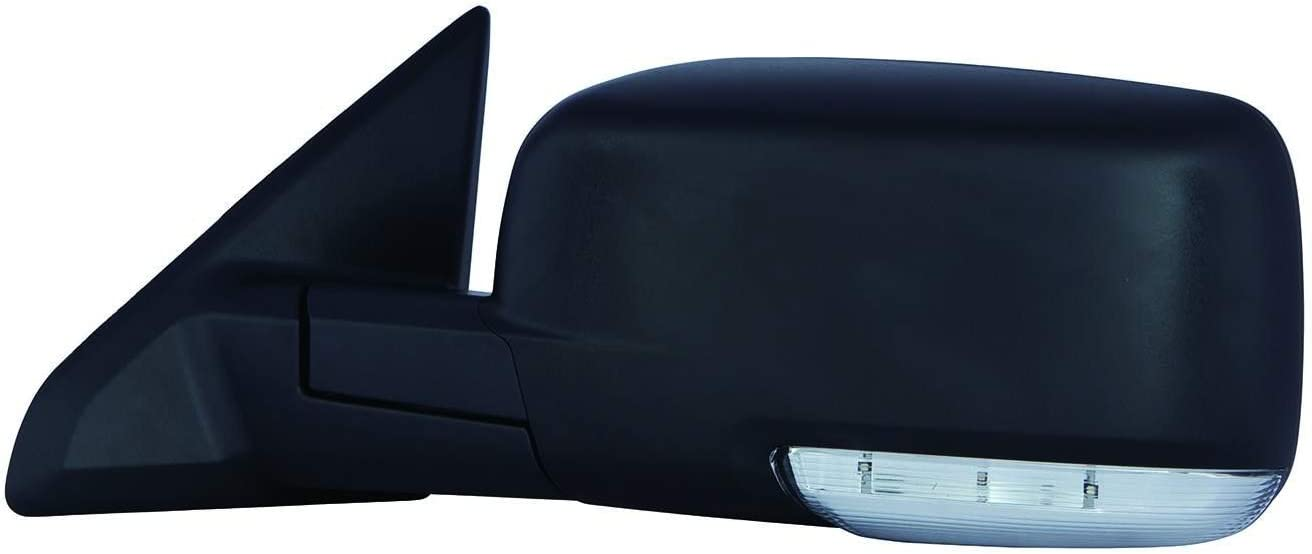 DEPO 334-5415L3EFH2 Dodge RAM PU R1500 Driver Side Textured Heated Power Mirror with Turn Signal Lamp
