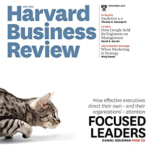 Harvard Business Review, December 2013 Periodical