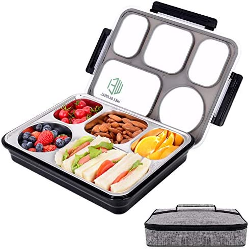 Compartments Leakproof Containers Removable Stainless Steel product image