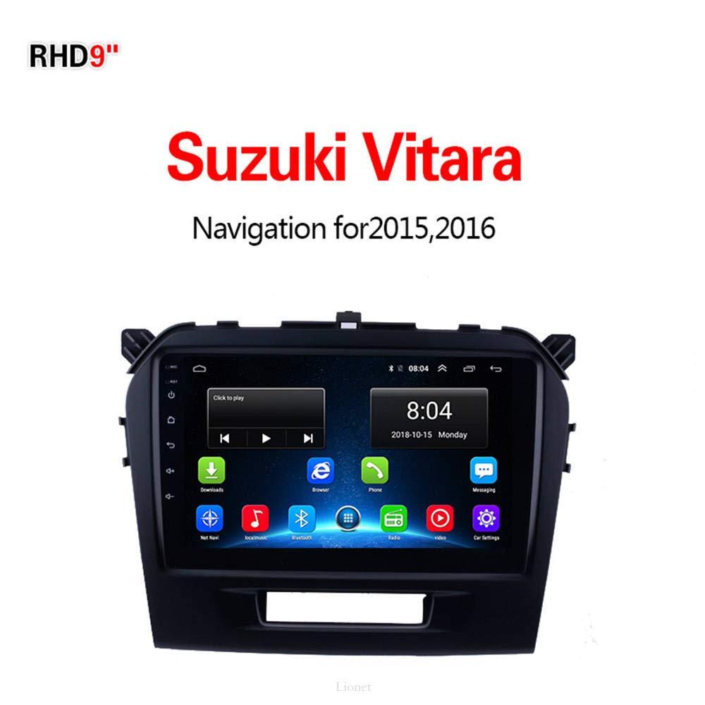 Navegación GPS Lionet para Coche Suzuki Vitara 2015-2016,9 Pulgadas ...