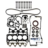 #5: SCITOO Head Gakset Kit Bolts, fit 2006-2011 Hyundai Accent Kia Rio 1.6L l4 GAS DOHC Engine Head gaskets Automotive Gaskets Replacement kits
