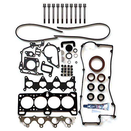 1.6 Head Gasket Kit - SCITOO Compatible with Head Gakset Set with Bolts fit Hyundai Accent Kia Rio 1.6L l4 06-11 Engine Head Gaskets Set Kits