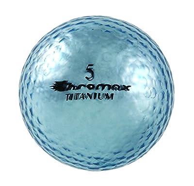 Chromax High Visibility M1x Golf Balls, Pack of 6 Balls by Chromax