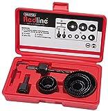 Draper Redline 68470 Hole Saw Kit (11-Piece)