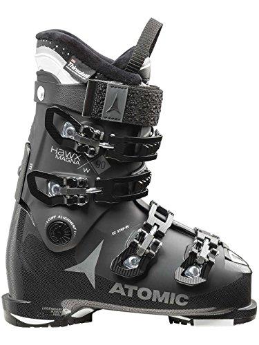 (Atomic Hawx Magna 90 Women's Ski Boots Black/Anthracite 23.0/23.5)