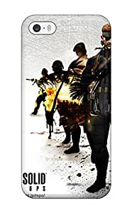 Iphone Case Cover With Metal Gear Nice Appearance Compatible With Iphone 5/5s