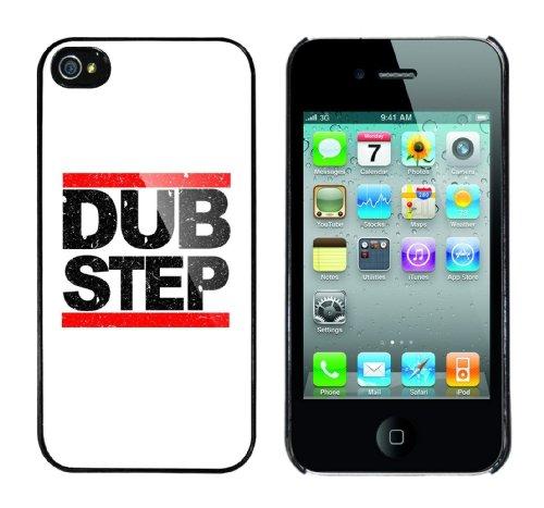 Iphone 4 Case Dub Step Rahmen schwarz