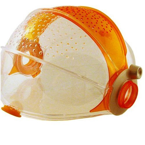 Habitrail OVO Retractable Roof - Clear Orange