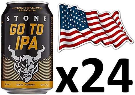 Cerveza Americana Stone Go To IPA, Pack de 24 latas: Amazon.es: Alimentación y bebidas