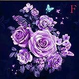 pattern maker for cross stitch - Maonet 5D Diamond Painting Embroidery Cross Stitch DIY Art Craft Home Wall Decor (F)