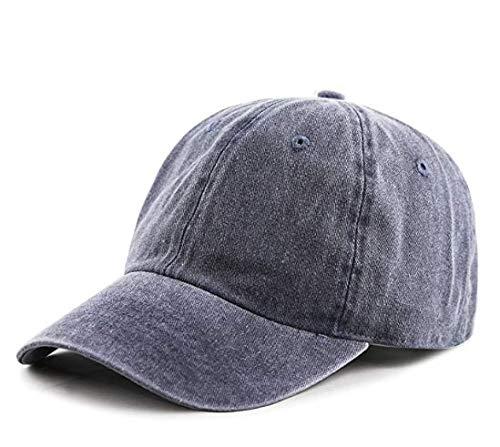 b4df4d959f57 Handcuffs Cotton Plain Blue Baseball Cap Adjustable for Men Women  Amazon.in   Clothing   Accessories