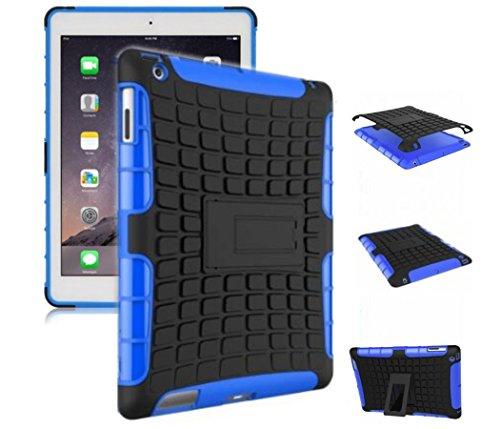 Shockproof Armor TPU/PC Case for Apple iPad Pro 9.7 - Black - 8